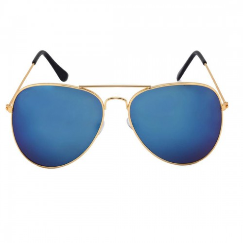 Abloom Blue Golden Sunglasses