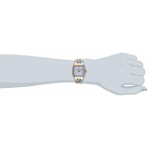 Bulova Diamond Analog White Dial Women's Watch-98R200
