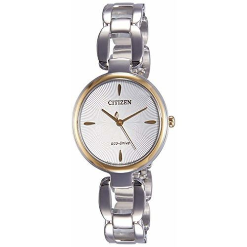 Citizen Analog White Dial Women's Watch-EM0424-88A