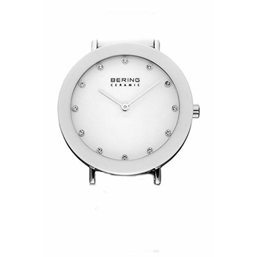 BERING Ceramic Analog White Dial Women's Watch-11435-754