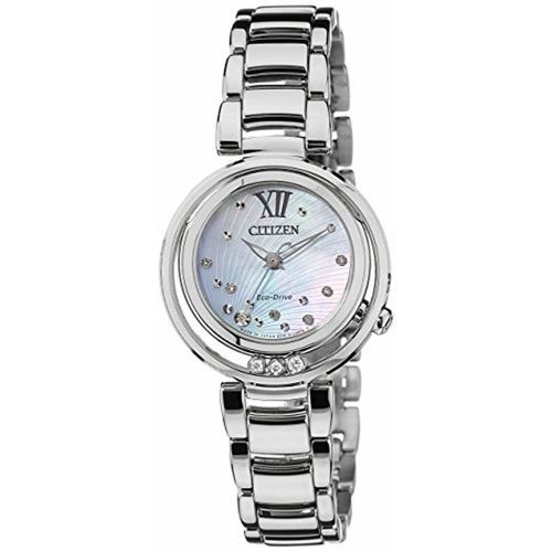 Citizen Analog Mother of Pearl Dial Women's Watch-EM0327-50D