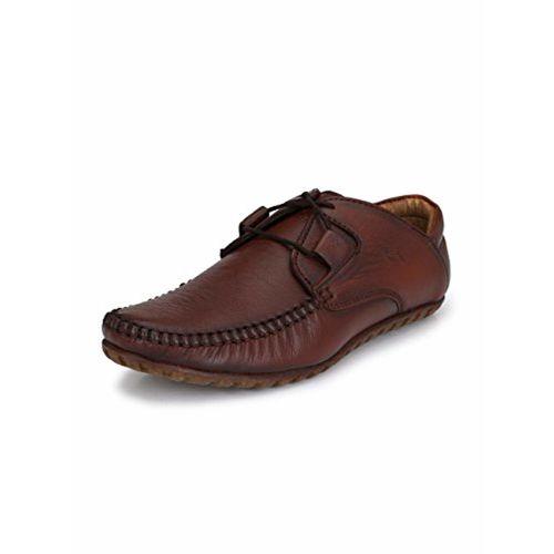El Paso Men's Casual Genuine Leather Shoes