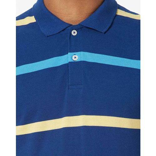 NETPLAY Striped Slim Fit Polo T-shirt
