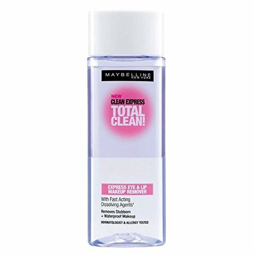 Maybelline Total Clean Express Eye & Lip Make Up Remover 70ml with Ayur Product in Combo