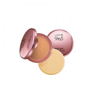 Lakme 9 to 5 Primer Plus Matte Powder Foundation Compact(Natural Light)