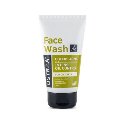 Ustraa Face Wash - Oily Skin (Checks Acne & Oil Control)