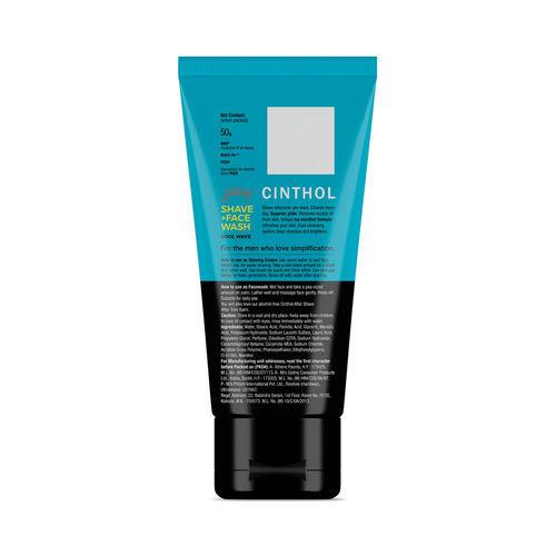 Cinthol Shave + Face Wash - Cool Wave