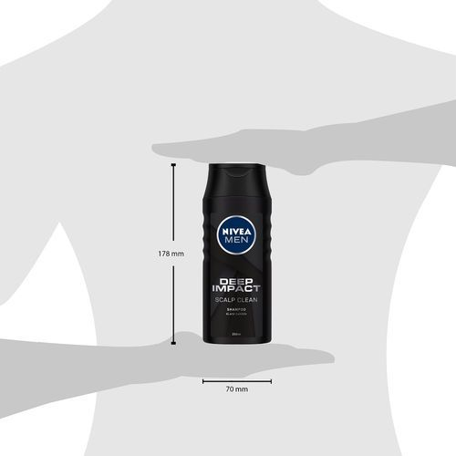 Nivea Men Deep Impact Scalp Clean Shampoo