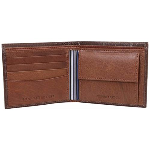Tommy Hilfiger Rinaldo Brown Leather Wallet