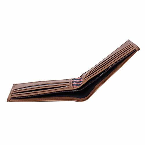 Tommy Hilfiger Dark Brown Leather Wallet