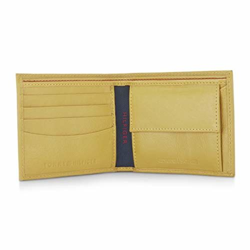 Tommy Hilfiger Mustard Yellow Leather Wallet