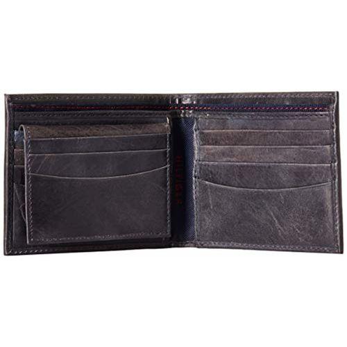 Tommy Hilfiger Navy Blue Leather Wallet