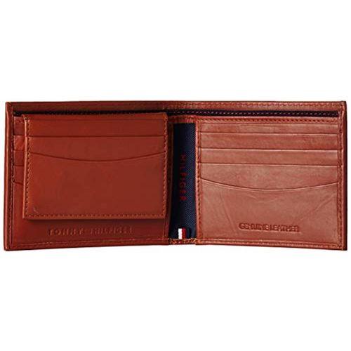 Tommy Hilfiger Tan Leather Wallet