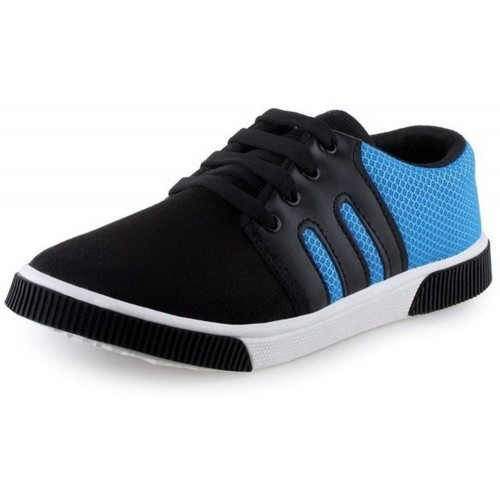 Oricum Black-347 Canvas Shoes