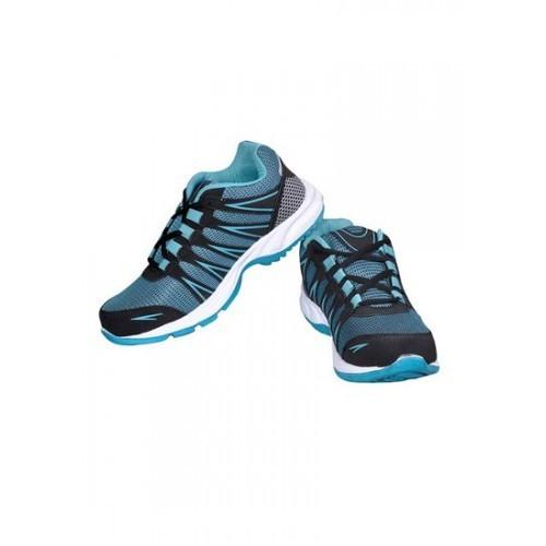 Kaption EMark Blue Walking Shoes For Men