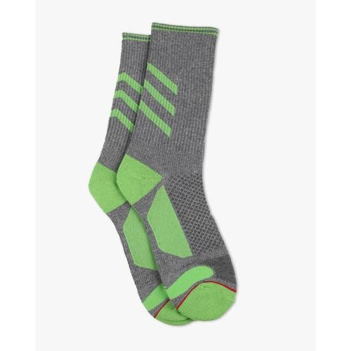 Soxytoes Cotton Socks with Contrast Panels