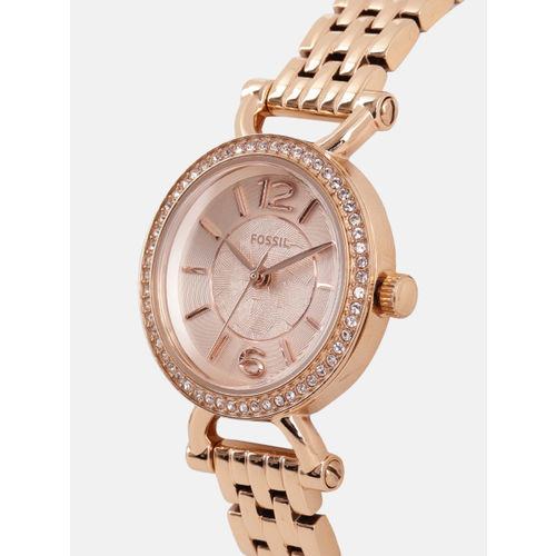 Fossil Women Rose Gold Analogue Watch ES3894_OR
