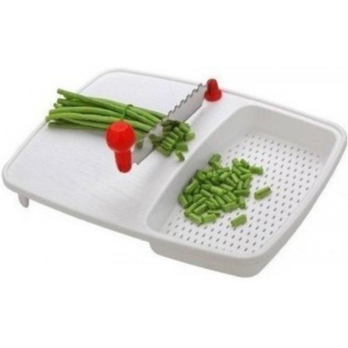Nightstar Vegetable and Fruit Cutting Board Chopper