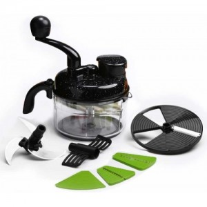 Wonderchef Turbo Dual Speed Food Processor Vegetable & Fruit Chopper