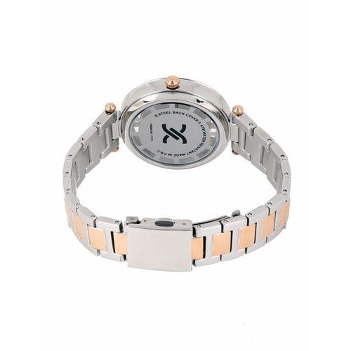 Daniel Klein Women Silver-Toned Analogue Watch DK11379-2