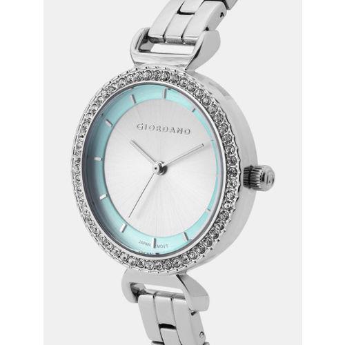 GIORDANO Women Silver-Toned Analogue Watch A2081-33