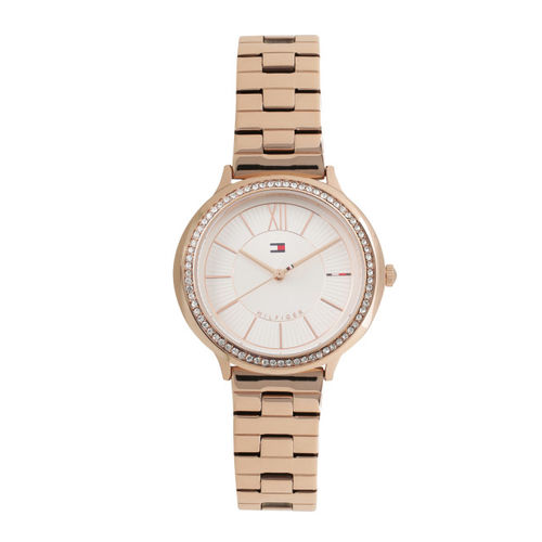 677098c41 Buy Tommy Hilfiger Women White Analogue Watch TH1781861 online ...