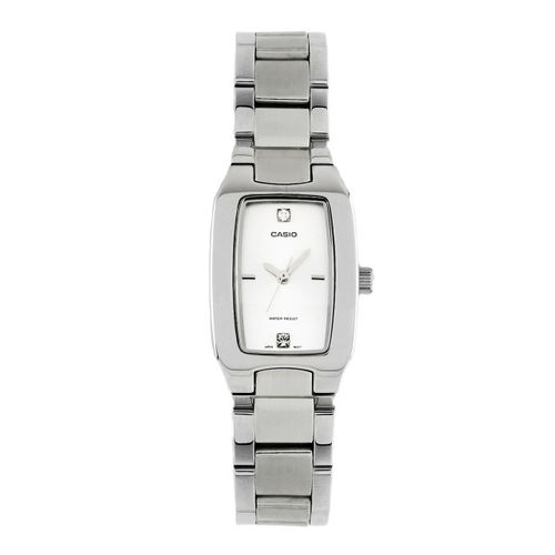 Casio Enticer Women White Dial Watch LTP-1165A-7C2DF(A265)
