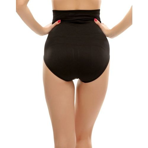 Clovia High Waist Tummy Control Panty In Black Women's Shapewear