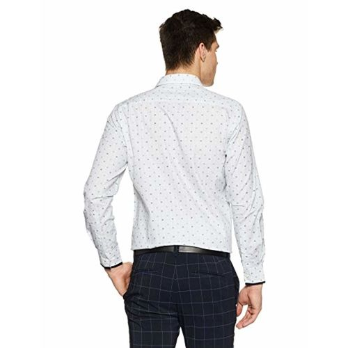 Diverse Men's Printed Regular Fit Formal Shirt