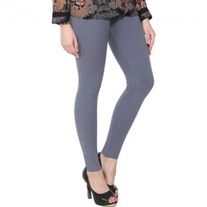PAMO Ankle Length Legging(Grey, Solid)