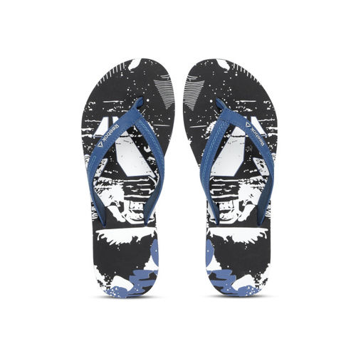 3d52d867f64 Buy Reebok Women Black   White Cash Printed Thong Flip-Flops online ...