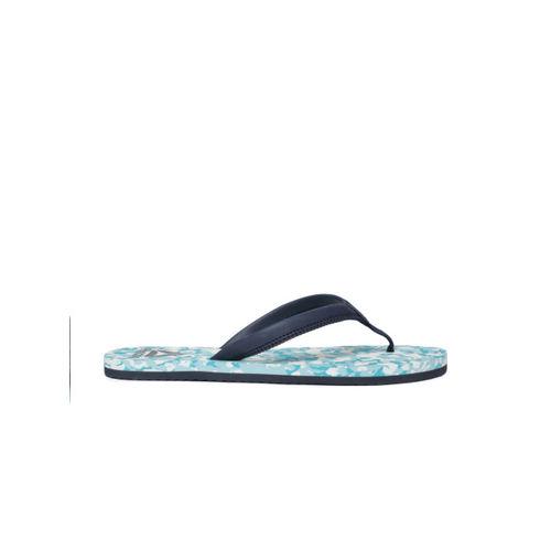 6f722a618 Buy Reebok Women Teal   Navy Blue Printed DAMSEL Thong Flip-Flops ...