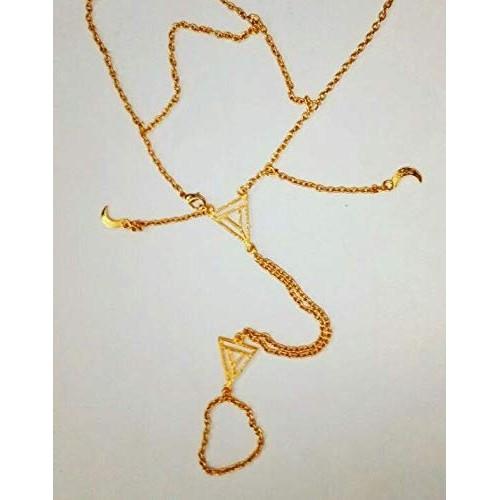 Generic Golden Alloy Anika Bracelet