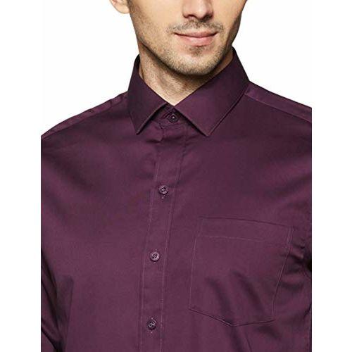 John Players Men's Solid Slim Fit Formal Shirt
