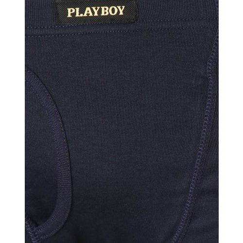 Playboy Panelled Boxers with Elasticated Waist