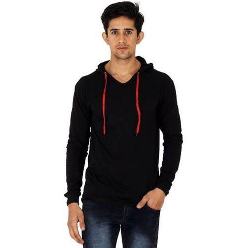 UZEE Full Sleeve Solid Men's Sweatshirt