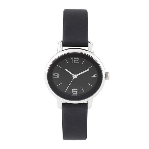 Fastrack Women Black Dial Watch 6107SL02