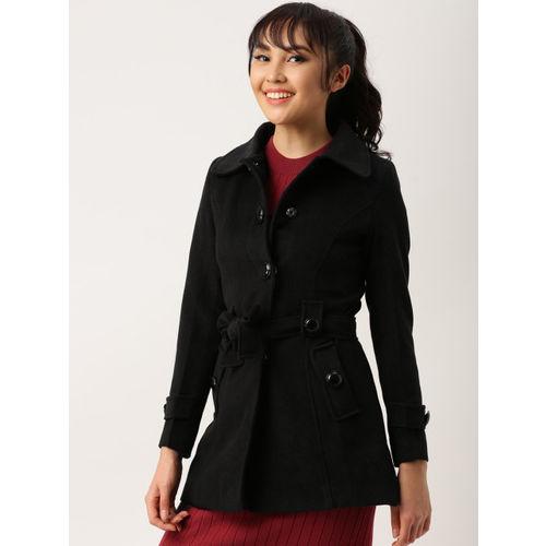 DressBerry Black Trench Coat