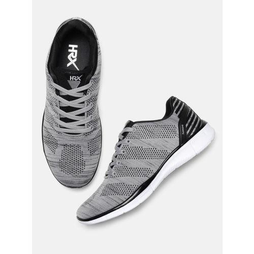 8864196c1 Buy HRX by Hrithik Roshan Men Grey Running Shoes online