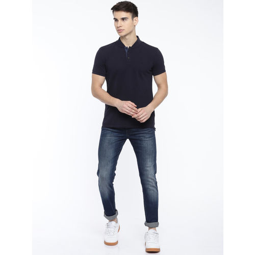 Calvin Klein Jeans Men Blue Skinny Fit Mid-Rise Clean Look Stretchable Jeans