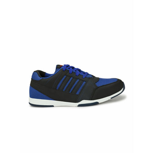 1c4c82ac3a6b Buy Eego Italy Men Navy Blue Leather Mid-Top Trekking Shoes online ...