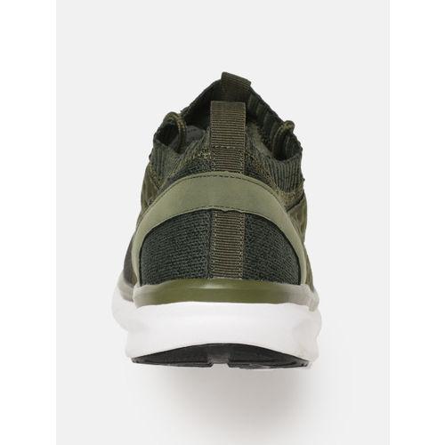 HRX by Hrithik Roshan Men Olive Green Running Shoes
