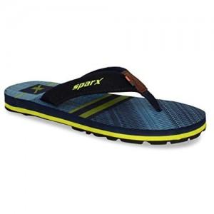 Sparx Navy Blue Flat Flip Flops