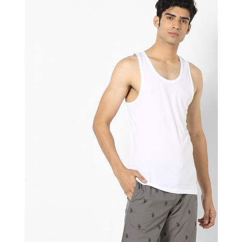 81bd99699c7042 Buy U.S. Polo Assn. Pack of 2 Sleeveless Vests online | Looksgud.in