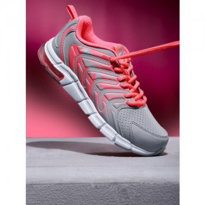 361 Degree Women Grey Training or Gym Shoes