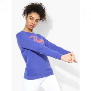 Puma Style Collegiate Blue Sweatshirt