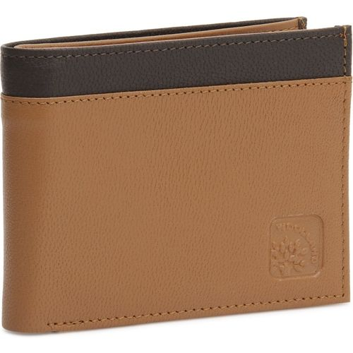 Woodland Men Tan, Brown Genuine Leather Wallet(3 Card Slots)