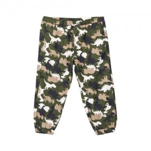 Beebay Dino Camouflage Print Jogger Size : 0-3 Months to 8 Years Material: 100% Cotton Woven Style:Printed |Full Length