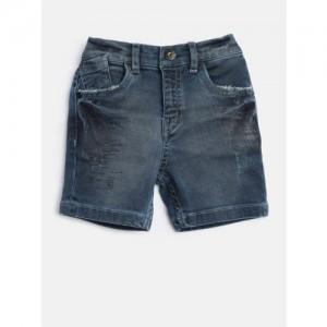 Gini and Jony Boys Blue Washed Denim Shorts