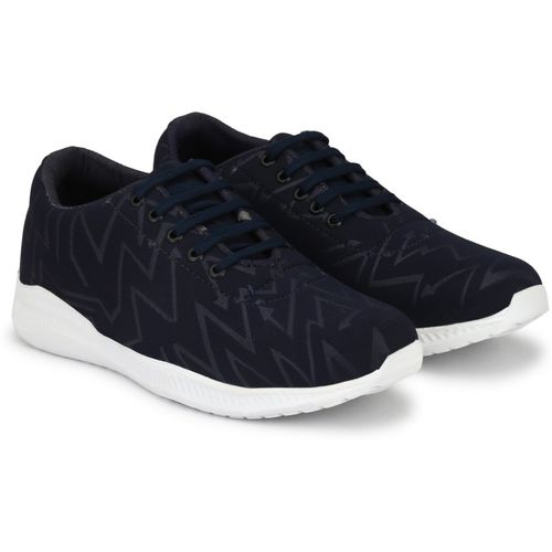 Shoe Island Popular Trending Ankle Length College Daily Wear Casual Canvas Sneakers Sneakers For Men(Navy, Blue, White)